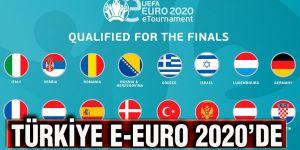 Türkiye E-Euro 2020'de