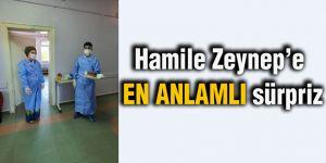 Hamile Zeynep'e en anlamlı sürpriz