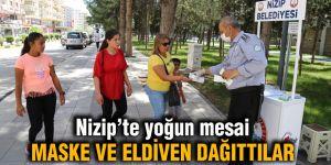 Nizip'te yoğun mesai