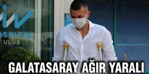 Galatasaray ağır yaralı