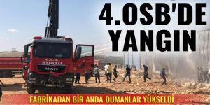 Gaziantep'te fabrika yangını!