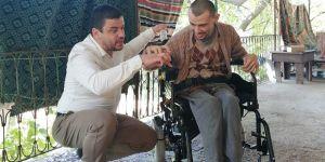 Yürüme engelli Ali'nin hayali gerçek oldu