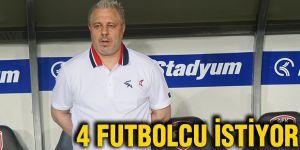 4 Futbolcu istiyor