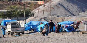 200 Suriyeli çadırda yaşıyor