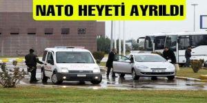 NATO HEYETİ GAZİANTEP'TEN AYRILDI