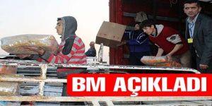 BM açıkladı: Bir milyon Suriyeli aç