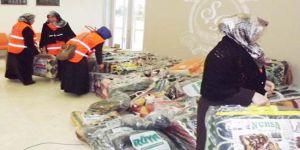 Mültecilere  6 bin battaniye
