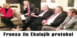 Fransa ile  Ekolojik protokol