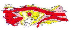 Deprem riski olan bölgeler açıklandı
