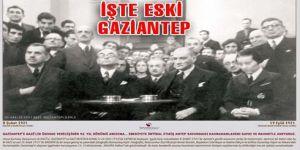 Eski Antep Fotoğraflarının yer aldığı takvim tanıtıldı