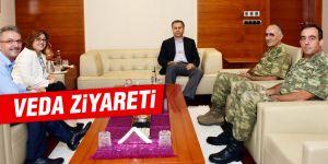 Korgeneral Erbaş'tan veda ziyareti