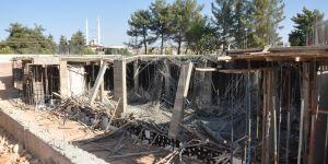 Osmangazi'de inşaat çöktü