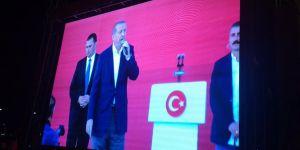 Gaziantep, Cumhurbaşkanı Erdoğan'ı canlı izledi