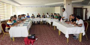 Masterler Futbol Ligi bölge toplantısı yapıldı