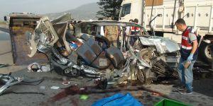 Akyüz ailesi kaza kurbanı