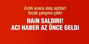 Mardin'de terör saldırısı: 1 şehit, 1 yaralı