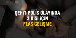 Polis katili DEAŞ üyesine destek veren 3 kişi yakalandı