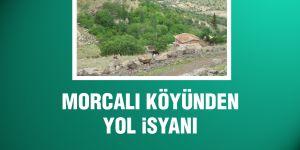 Morcalı köyünden yol isyanı