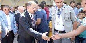 Özhaseki, cuma namazını Şehitler Cami'de kıldı