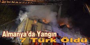 Almanya'da Türk ailelerin apartmanında yangın