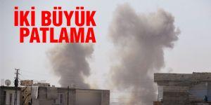 Cerablus'ta 2 büyük patlama