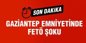 Gaziantep'te 61 polise FETÖ gözaltısı