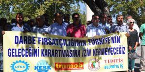 STK'lardan FETÖ  soruşturması protestosu