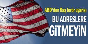 ABD'den flaş Gaziantep uyarısı !