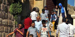 Gaziantep Kalesi'ne turist akını