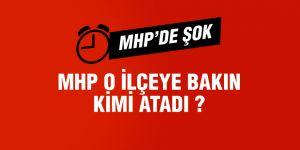 MHP, o ilçeye Ak Partili başkanı atadı