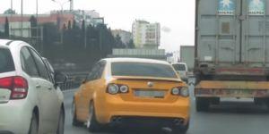 Trafikte makas atana hapis cezası