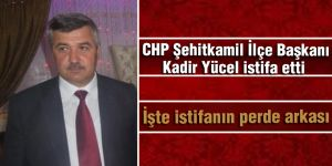 CHP'de istifanın perde arkası