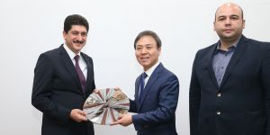 Güney Kore'de büyük tanıtım