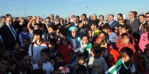 Sığınmacı çocuklara 'Oyun Alanı'