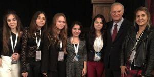 GKV Avrupa Gençlik Parlamentosu'nda