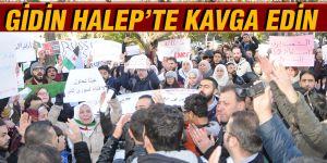 GİDİN HALEP'TE KAVGA EDİN