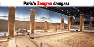 Paris'e Zeugma damgası