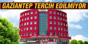 GAZİANTEP TERCİH EDİLMİYOR