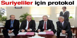 Suriyeliler için protokol