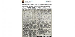 Milletvekili Ahmet Uzer'den 'hayır'cılara sert tepki