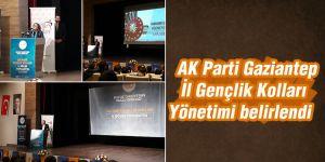 AK Parti Gaziantep İl Gençlik Kolları Yönetimi belirlendi