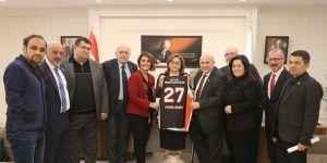 Engelsiz Gaziantep'ten Fatma Şahin'e ziyaret