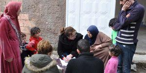 Suriyeliler kayıt altına alınıyor