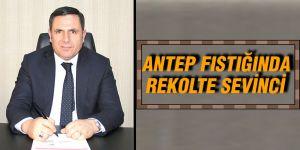 ANTEP FISTIĞINDA REKOLTE SEVİNCİ