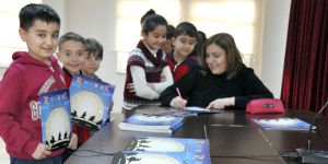 Çocuklar yazarlarla buluştu