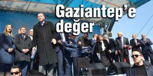 Gaziantep'e değer