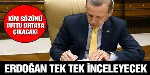 İşe alım listesi Erdoğan'ın önüne gidecek