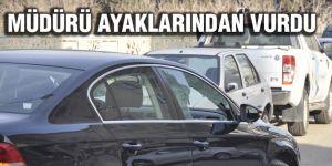 AK Partili meclis üyesi müdürü silahla yaraladı