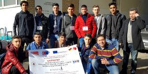 Matbaa öğrencileri Almanya'da
