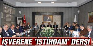 İŞVERENE 'İSTİHDAM' DERSİ